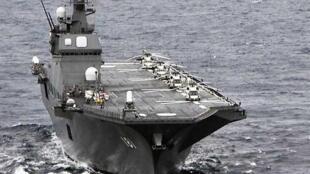 圖為日本海軍出雲號戰艦