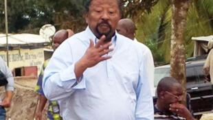 L'opposant Jean Ping à Libreville.