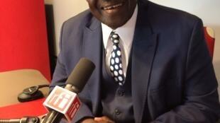 Mohamed Aly Bathily, ancien garde des Sceaux, candidat à l'élection présidentielle malienne.
