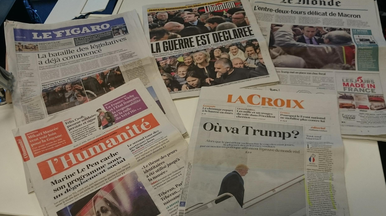Diários franceses 27.04.2017