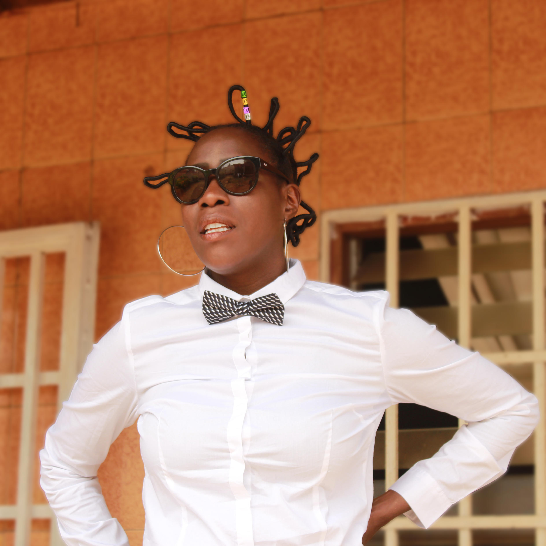 Valérie Ekoumè describes her music as 'Afro-pop' from Cameroon