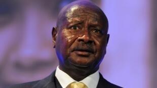 Le président ougandais Yoweri Museweni (archives).