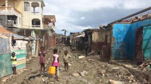 L'ouragan de catégorie 4 Matthew a ravagé l'île d'Haïti en octobre 2016.