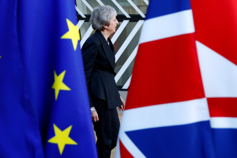 Thủ tướng Anh Theresa May tại thượng đỉnh châu Âu, ngày 13/12/2018 tại Bruxelles