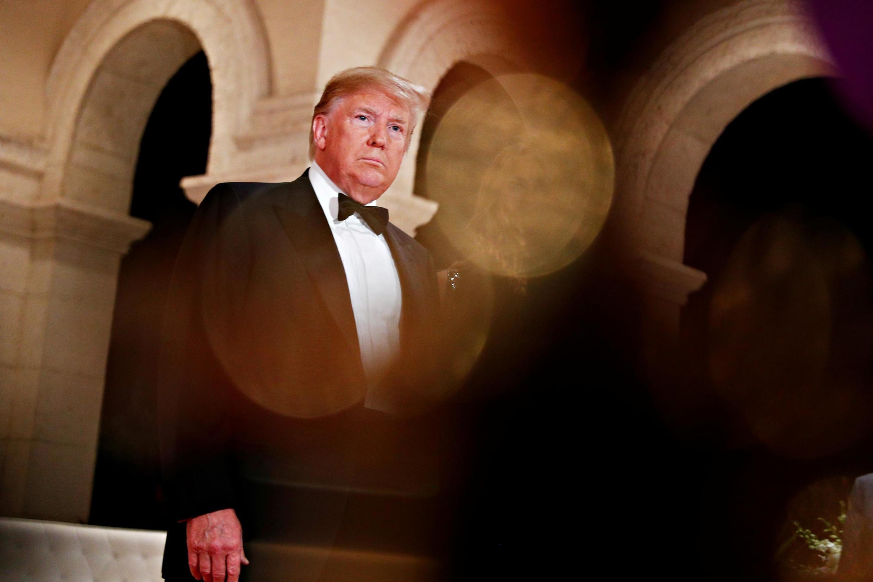 美国总统特朗普资料图片
