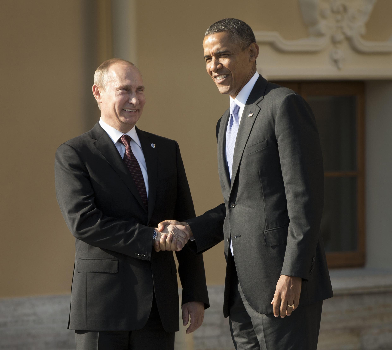 Tổng thống Mỹ Obama và đồng nhiệm Nga Putin - REUTERS/ P.M Monsivais