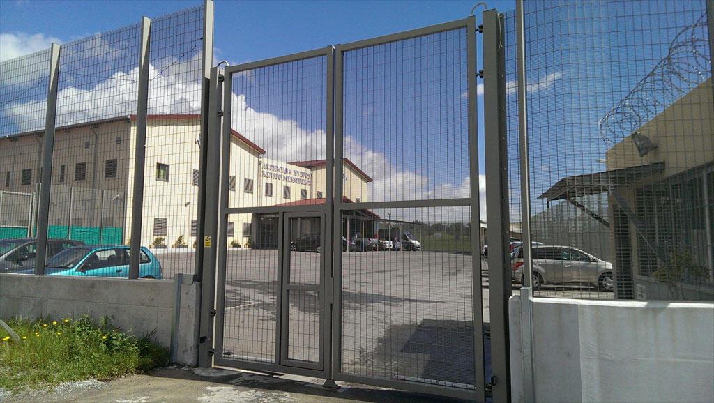 Centre de rétention à Menoyia (Chypre).
