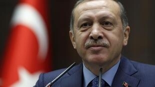 Le Premier ministre turc Recep Tayyip Erdogan, le 7 mai 2013 à Ankara.