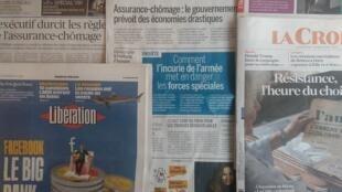 Imprensa francesa desta Terça-feira 18 de Junho de 2019.