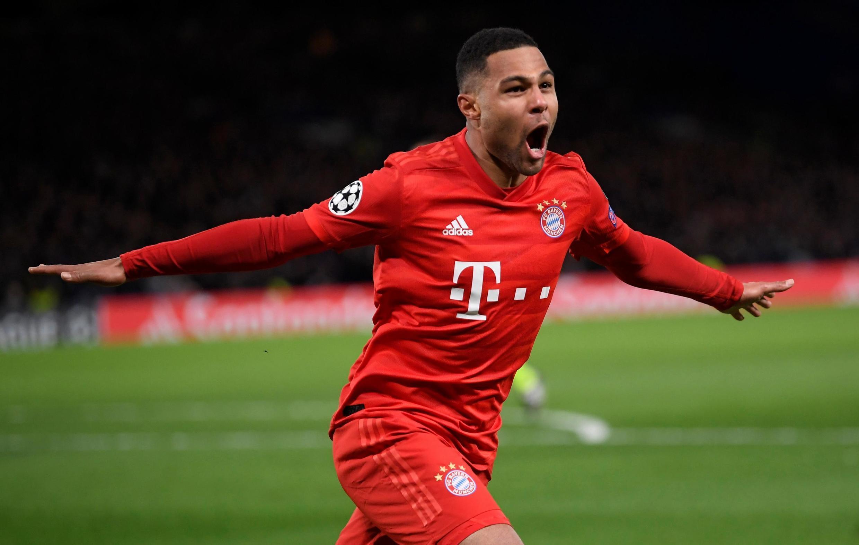 Serge Gnabry scored twice in Bayern Munich's 3-0 waltz past Chelsea.
