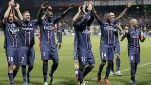 O Paris Saint-Germain garantiu o título do Campeonato Francês.
