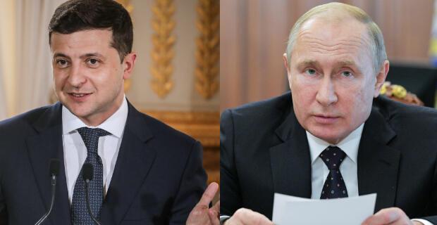 Президенты Зеленский и Путин провели первые переговоры по телефону 11 июля 2019 года