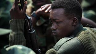 Un combattant du M23, le 1er décembre 2012 à Goma, en RDC. Les Etats-Unis demandent au Rwanda de cesser son soutien au mouvement rebelle.