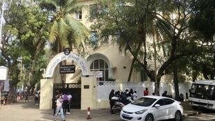 L'Institution Sainte Jeanne d'Arc, dans le centre-ville de Dakar, accueille près de 2000 élèves.
