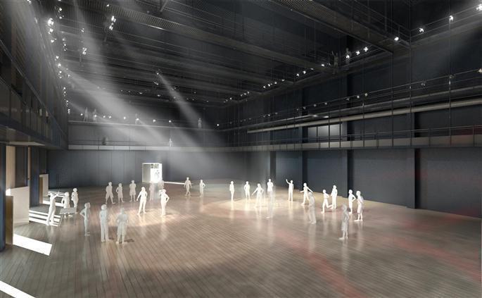 """Компоекс """"FabricA"""" воссоздает для репетиций сцену Папского дворца под 12-ти метровыми потолками."""