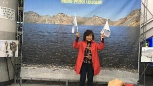En Corée du Sud, jeunes et moins jeunes espèrent la venue de Kim Jong-un.