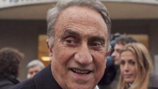 O apresentador da televisão italiana, Emilio Fede, condenado a sete anos de prisão por prostituição de menores.