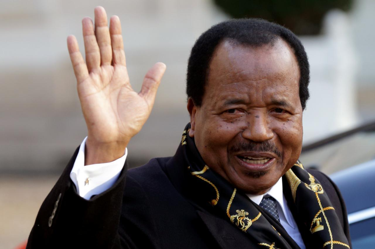 Shugaban kasar Kamaru Paul Biya.