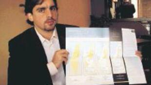 Xavier Abu Eid, portavoz de la OLP (Organización para la Liberación de Palestina).