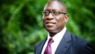 Paulo Gomes,  terceiro candidato mais votado na primeira volta das presidenciais do passado mês de Abril na Guiné-Bissau.