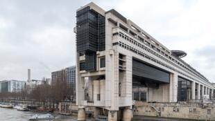 Le Bâtiment Colbert du Ministère de l'Economie et des Finances, dans le XIIème arrondissement à Paris, en France. La photo a été prise le 1er février 2019.