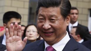 Xi Jinping en Caracas, este 21 de julio de 2014.