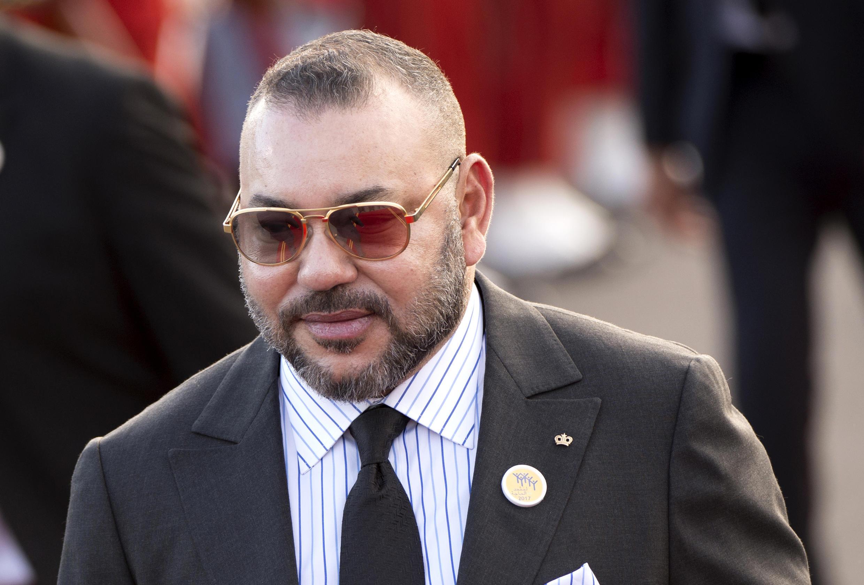Le roi du Maroc Mohamed VI, à Rabat, le 22 mars 2017.