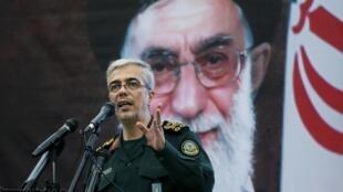 سرلشکر محمد حسین باقری رئیس ستاد کل نیروهای مسلح جمهوری اسلامی ایران.