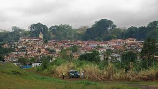 Vista da cidade de Malabo, Guiné Equatorial.