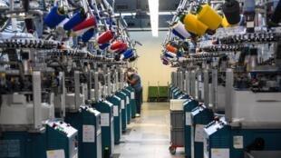 Une usine textile à Moliens, dans les Hauts-de-France, en septembre 2018 (image d'illustration).