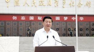 中国主席习近平在纪念卢沟桥事变77周年活动上讲话