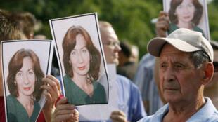 16 июля 2009 года жители Москвы вышли на улицы чтобы почтить память Натальи Эстемировой