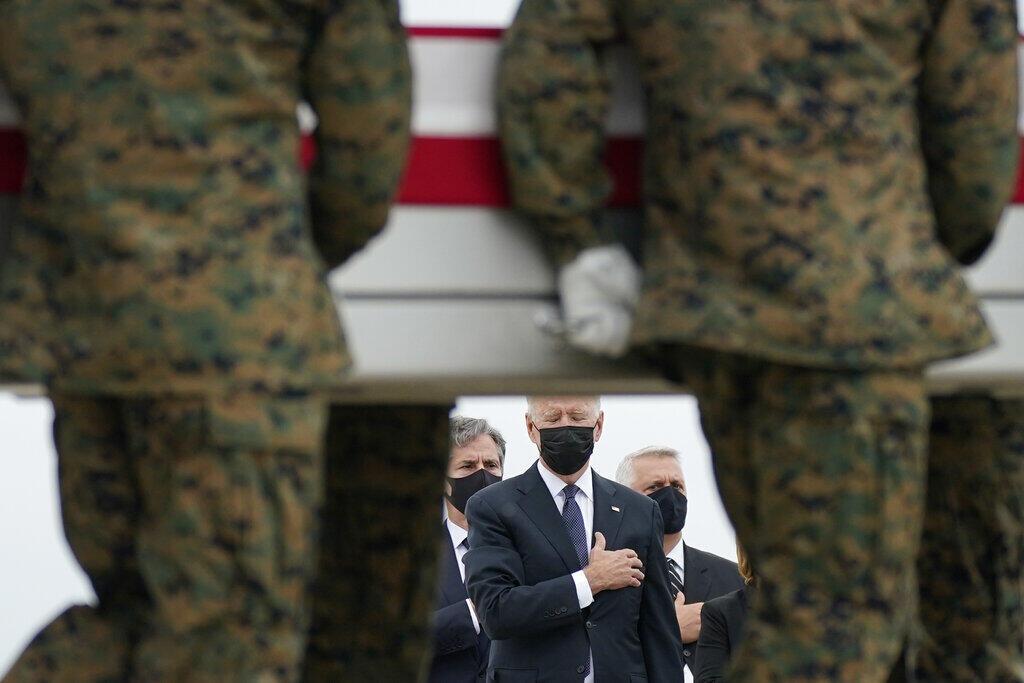 Afghanistan - Joe Biden - marine - attentat