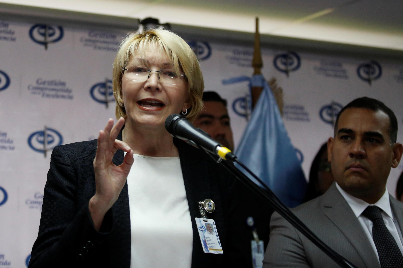 Luisa Ortega entra em colisão com Maduro