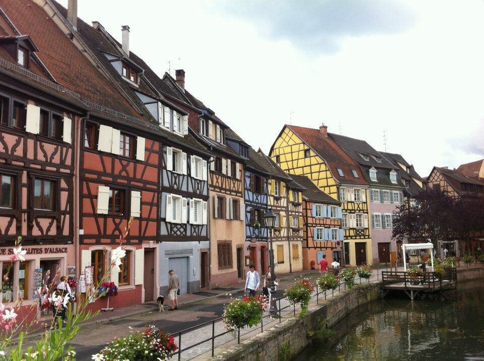 Thành phố Colmar, vùng Alsace, miền đông nước Pháp.