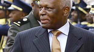 Rais wa Angola Dos Santos