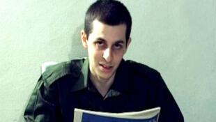 O soldado franco-israelense Gilad Shalit.
