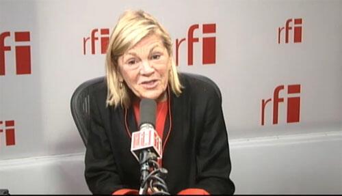 Constance Borde, vice-présidente du Parti démocrate américain en France.