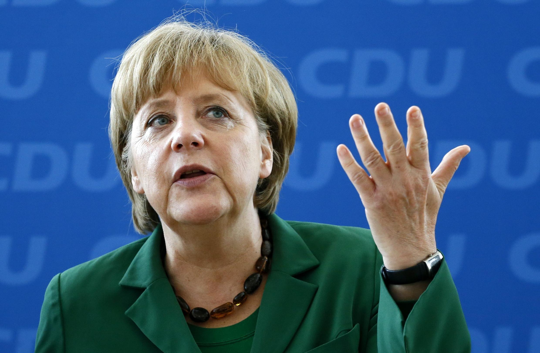 Shugabar gwamnatin Jamus Chancellor Angela Merkel