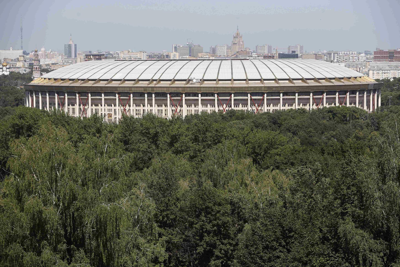 Théâtre des J.O. de 1980, le stade Loujniki de Moscou va être refait à neuf.