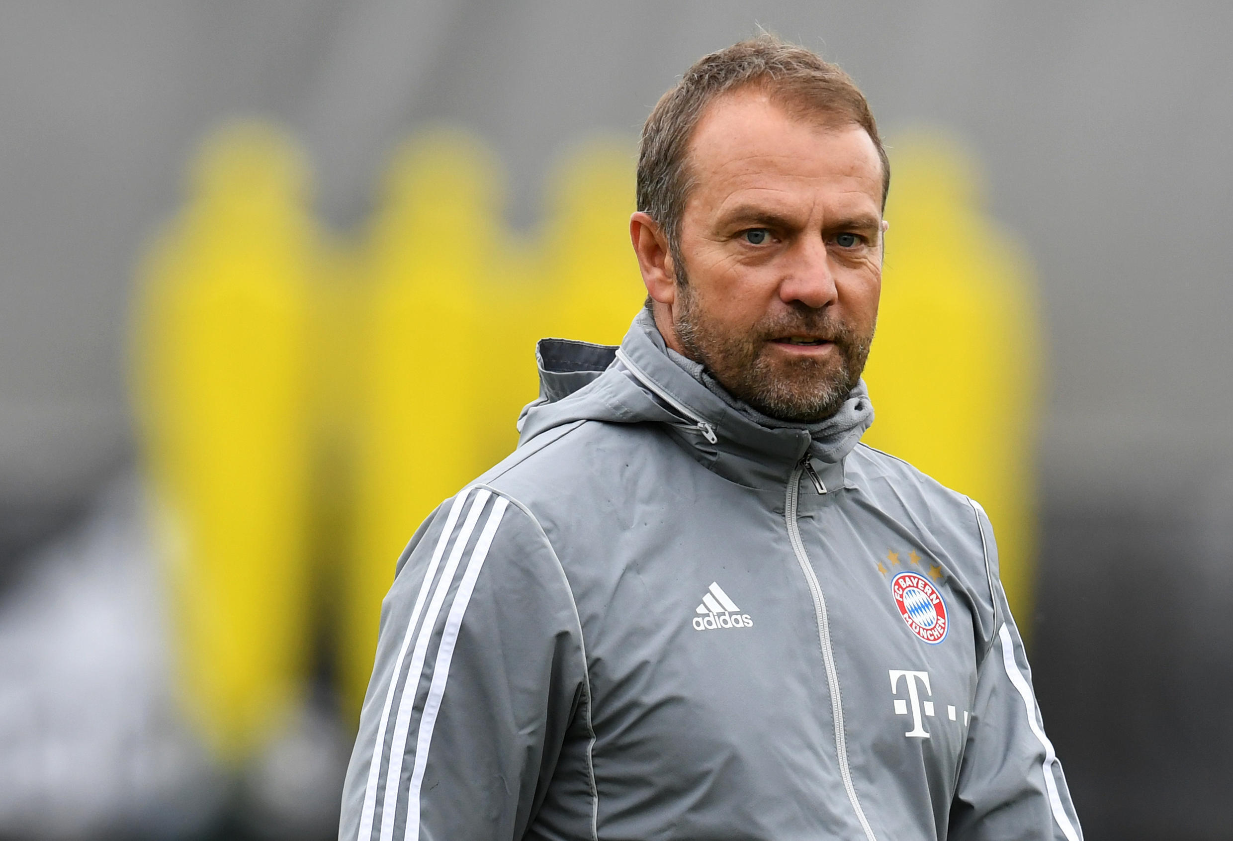Bayern Munich coach Hansi Flick has steered the side to the cusp of the Bundesliga title.