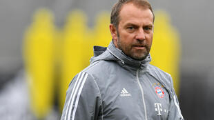 Bayern Munich coach Hansi Flick expects Bundesliga games to be held in near-empty stadiums if football resumes in Germany next month