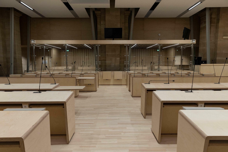 Palais de Justice, Paris.