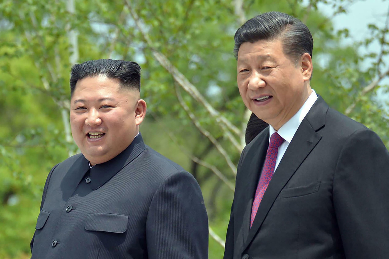 Xi Jinping - Kim Jong-un