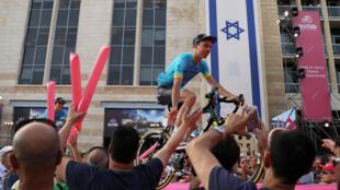 El Giro de Italia hará historia el viernes con un primer arranque fuera de Europa, con una breve contrarreloj individual en Jerusalén.