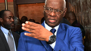 Aboudramane Sangaré, du Front populaire ivoirien (FPI), le 18 mars 2015.