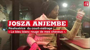Josza Anjembe, la réalisatrice du film «Le bleu blanc rouge de mes cheveux», sélectionné pour les César 2018