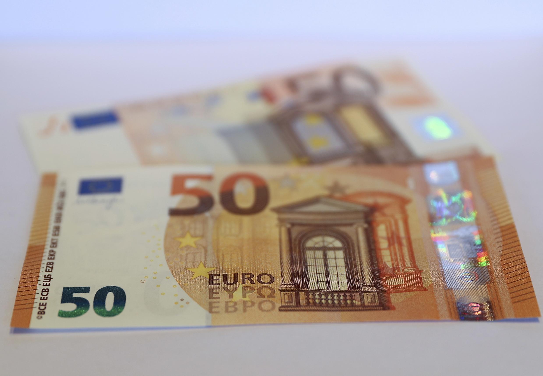 50歐元的新版紙幣從4月4日起投入使用