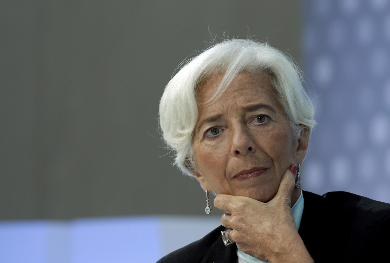 Christine Lagarde , Directora Geral  do Fundo Monetário Internacional.