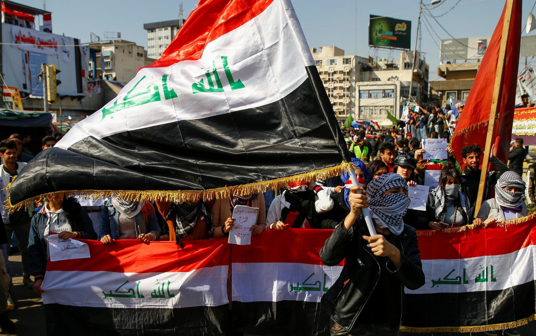 Maandamano ya hivi karibuni ya wanafunzi dhidi ya serikali ya Irag jijini Baghdad
